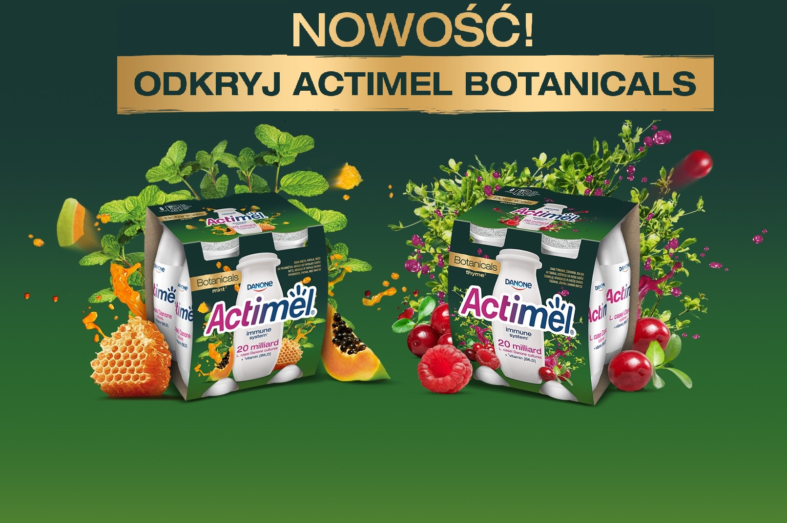 Actimel Botanicals