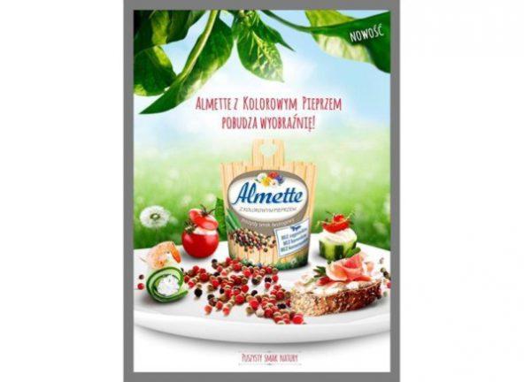 Almette z kolorowym pieprzem zdobywa serca i podniebienia konsumentów!