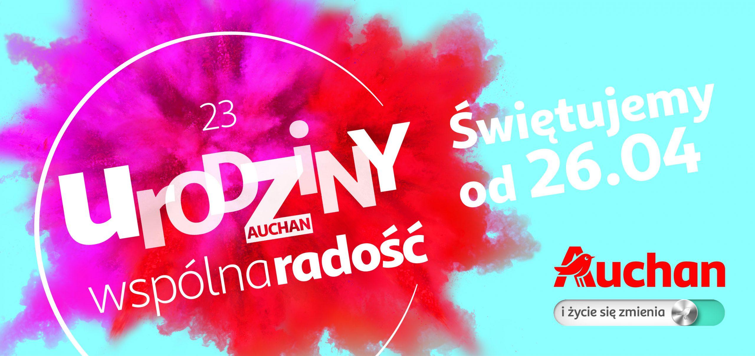 23 lata Auchan w Polsce