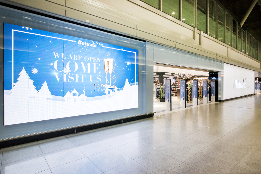 Największy sklep Baltony na Lotnisku Chopina otwarty