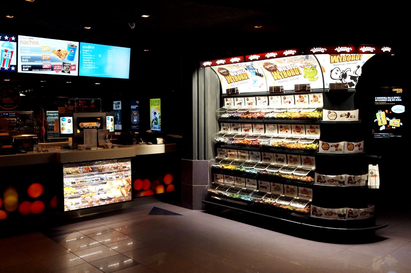 Słodycze marki Wawel wchodzą do kin Cinema City