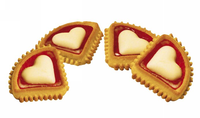 Promocja na ciastka kolekcji Walentynkowej Celpol