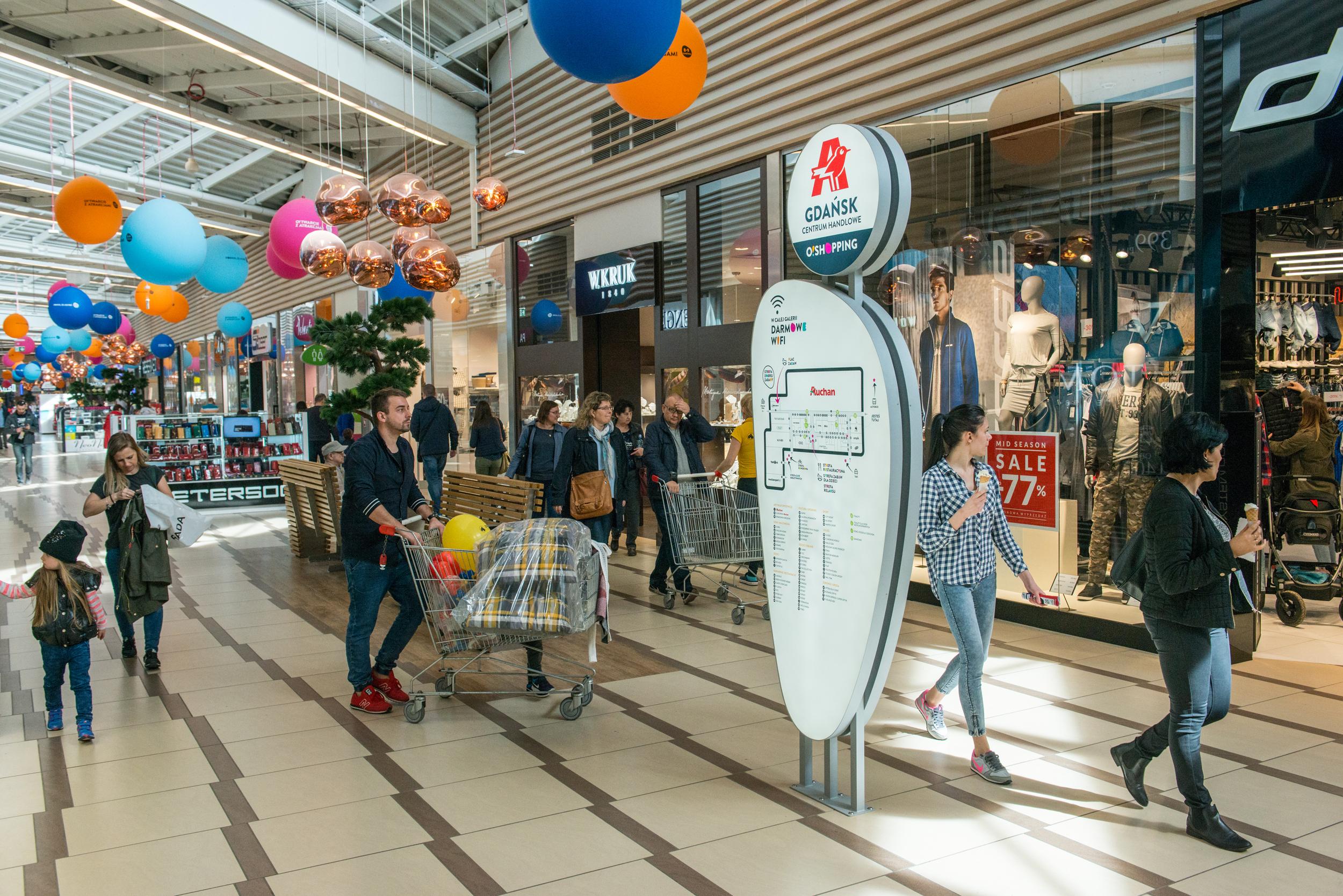 Centrum Handlowe Auchan Gdańsk z nowym najemcą Poradnik