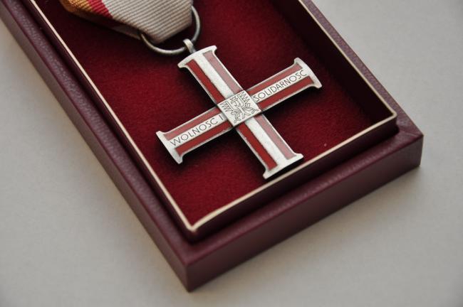 Wiesław Generalczyk odznaczony Krzyżem Wolności i Solidarności