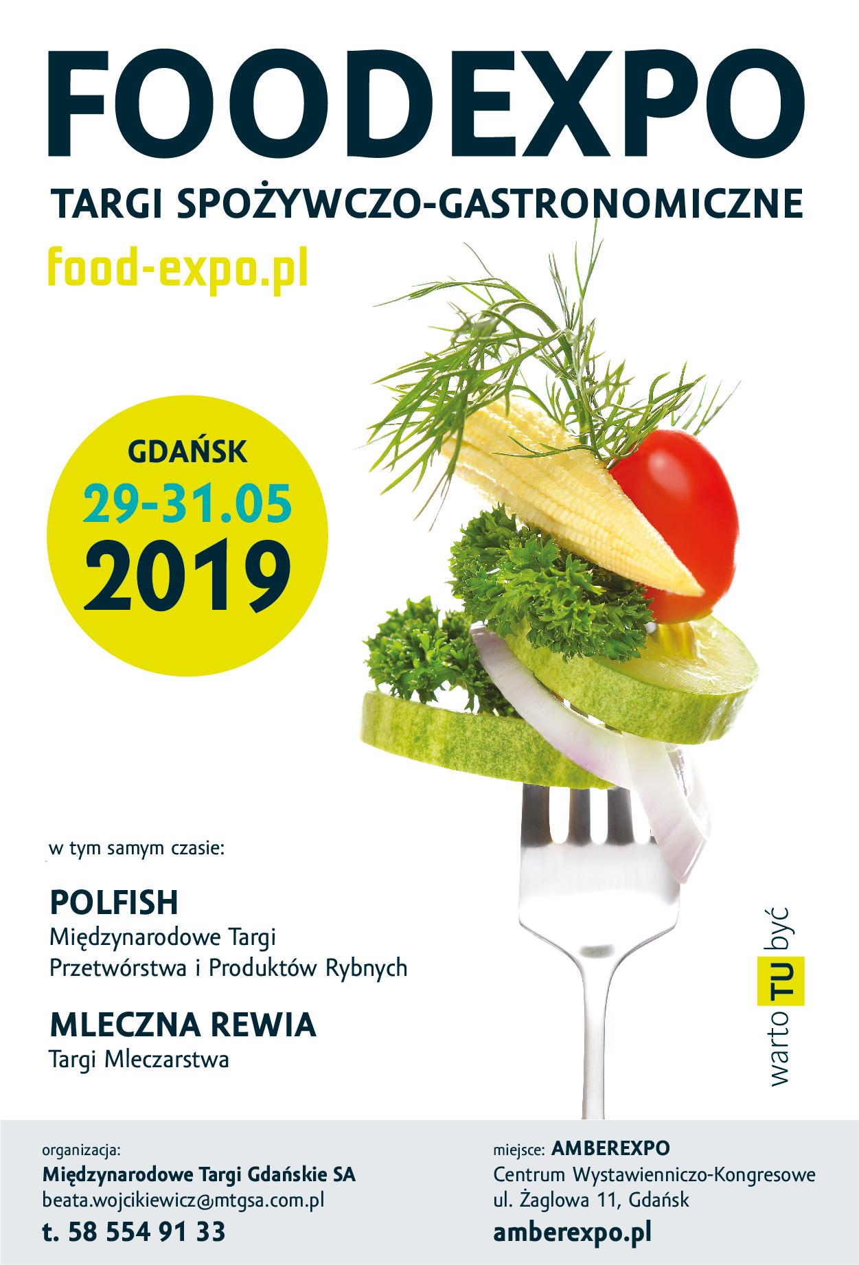FOODEXPO 2019 w Gdańsku