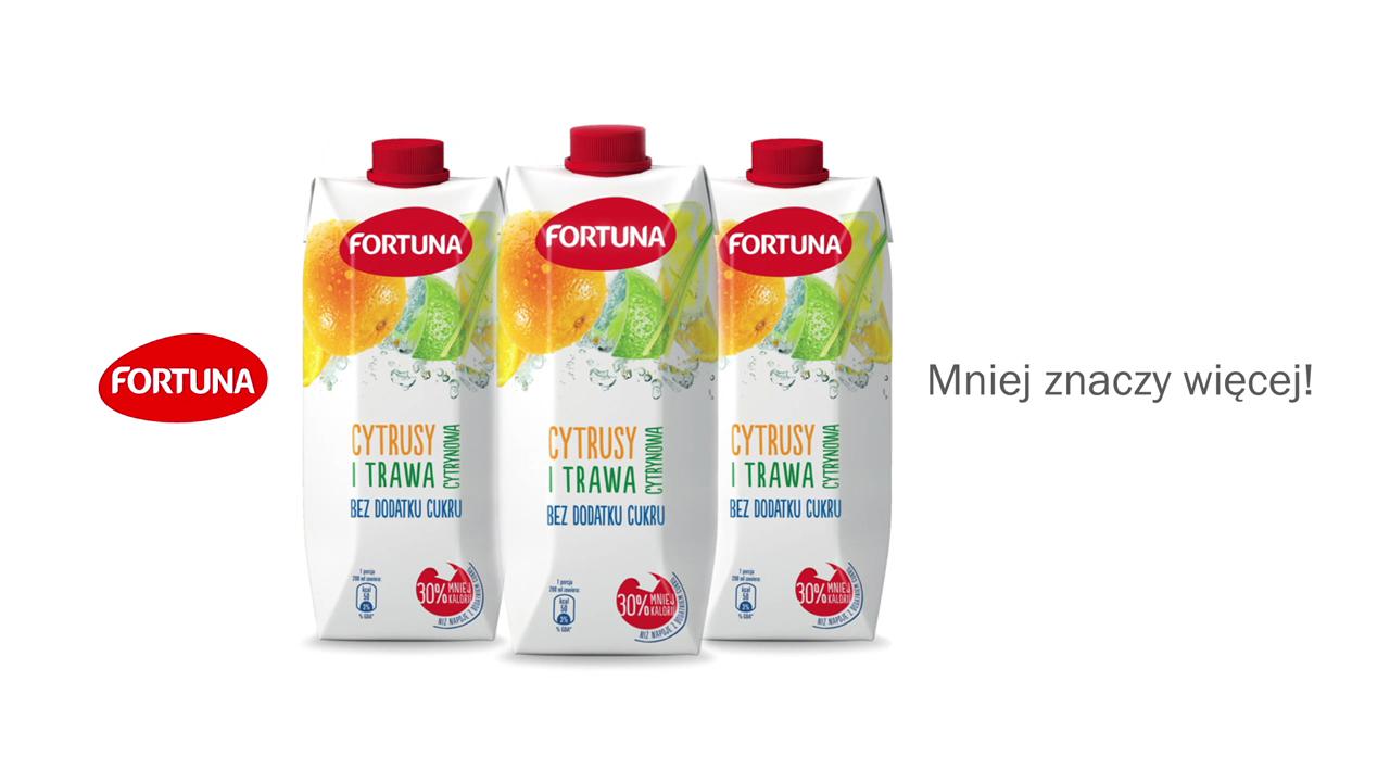 Nowa kampania reklamowa Fortuny