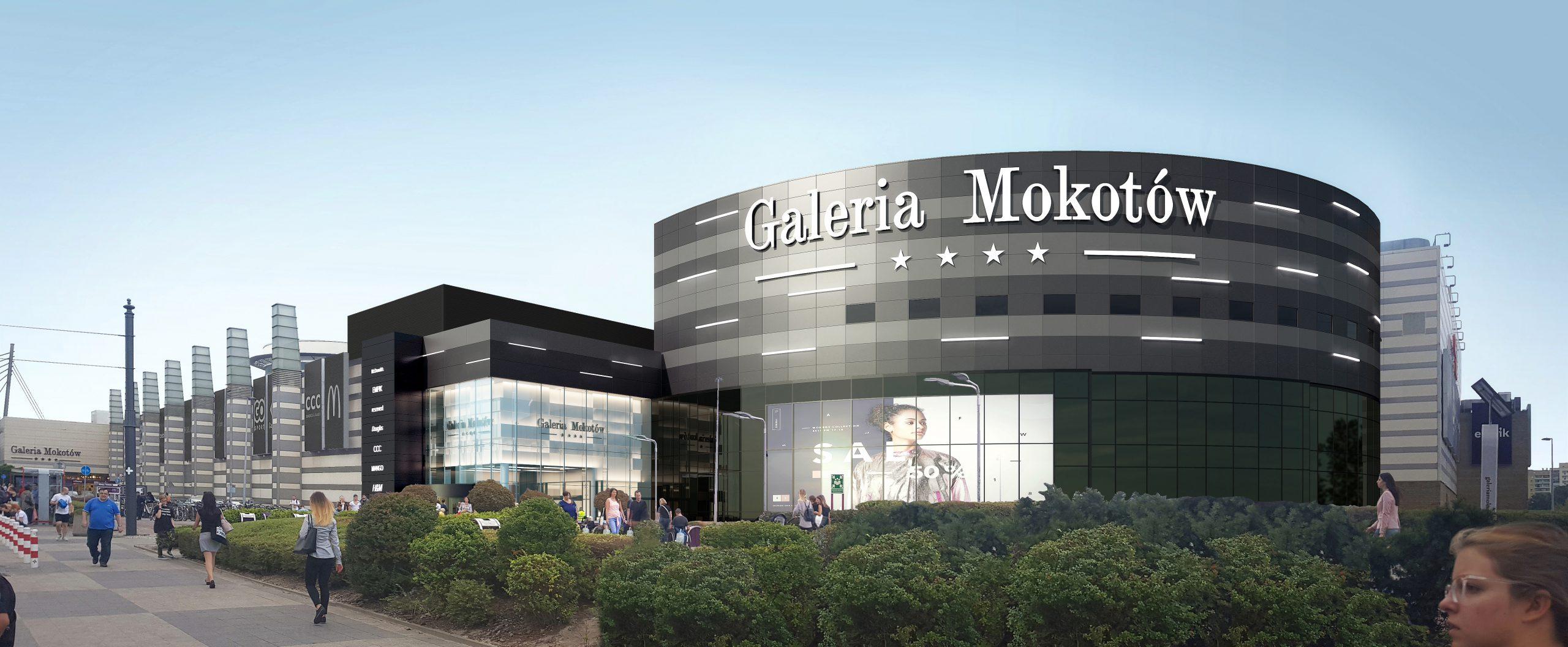 Galeria Mokotów wkrótce z nową elewacją