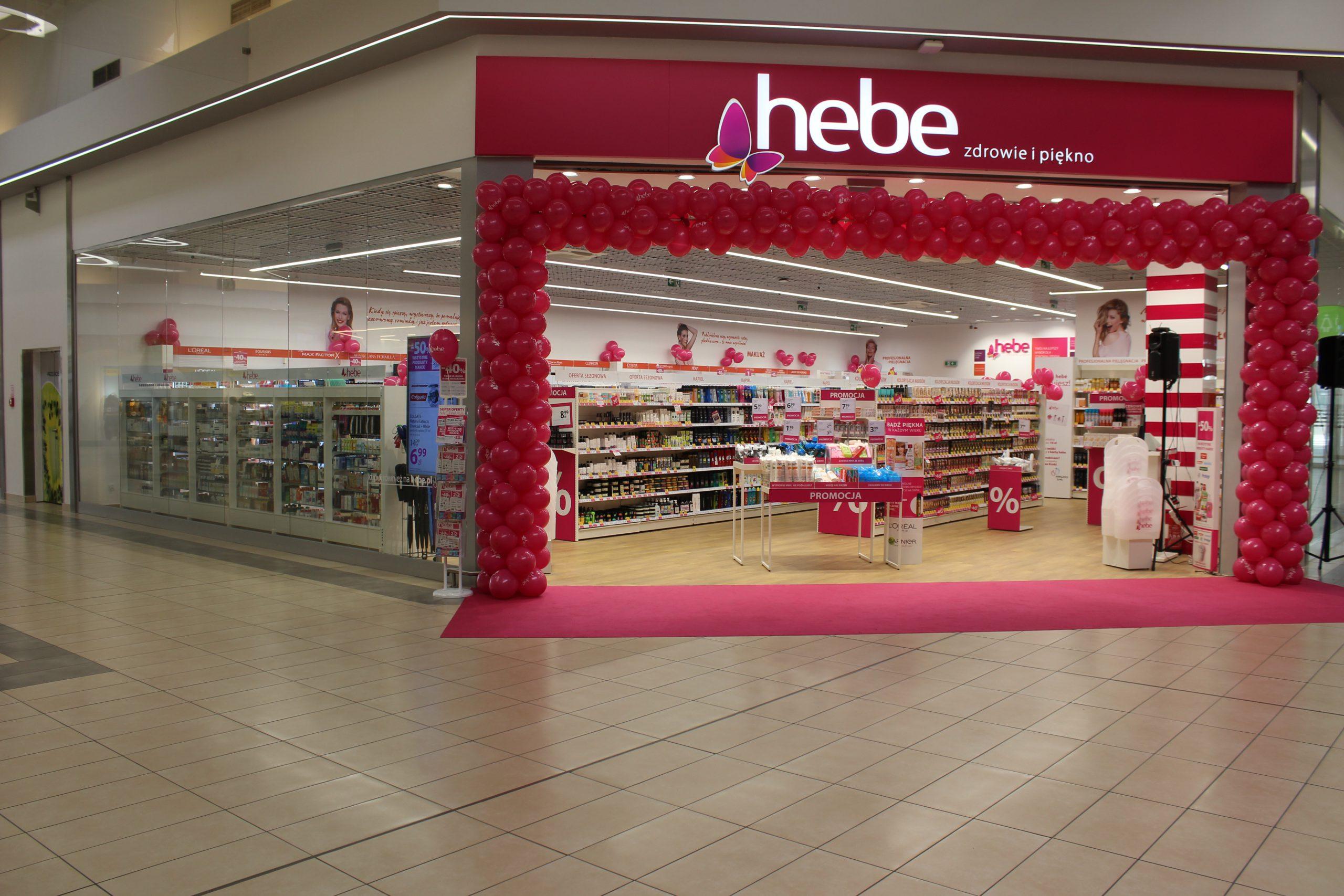 Drogeria Hebe już otwarta w Centrum Handlowym Auchan Gliwice