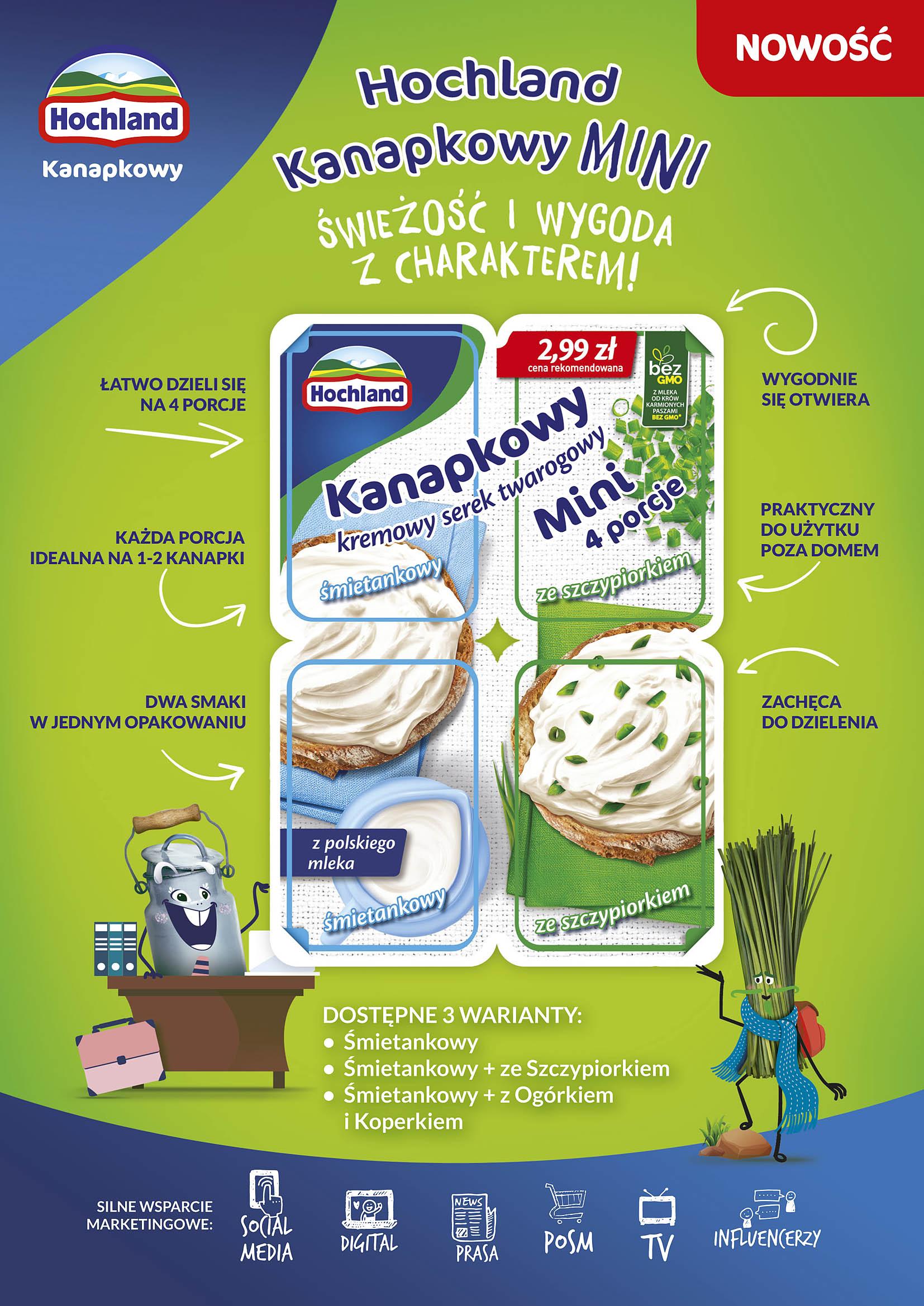 Hochland Kanapkowy – od teraz w internecie