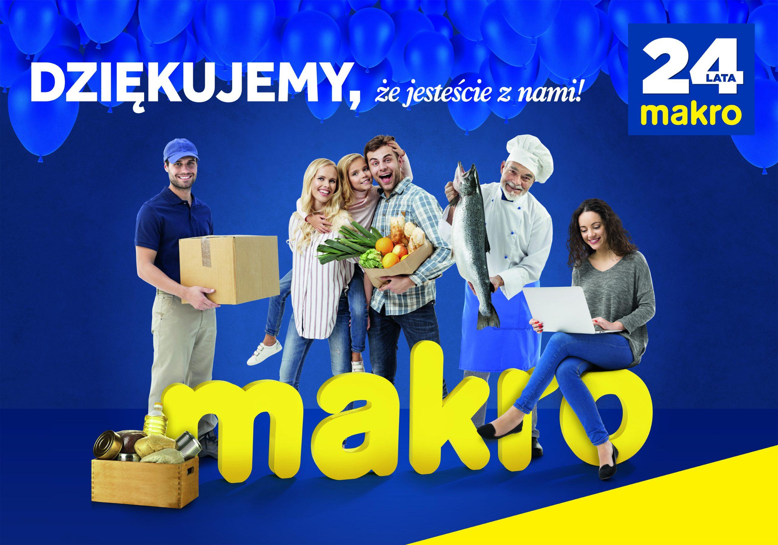 MAKRO Polska świętuje 24. urodziny