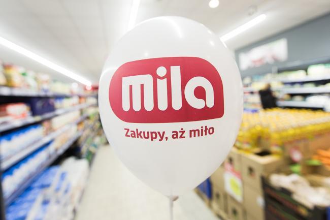 Wzrost sprzedaży po remodelingach sklepów sieci Mila