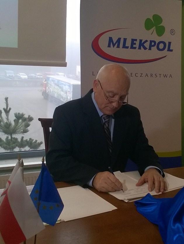MLEKPOL i Europejski Bank Inwestycyjny podpisały umowę