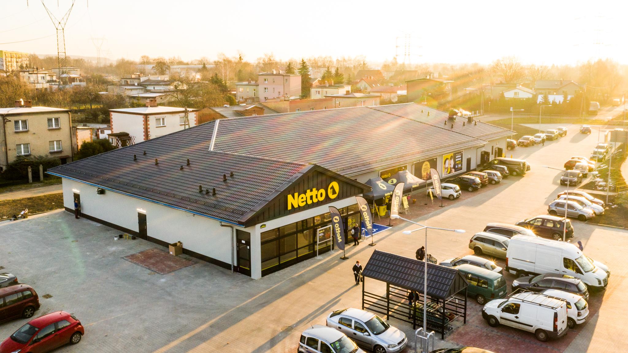 Netto w kolejnych dwóch miastach Polski