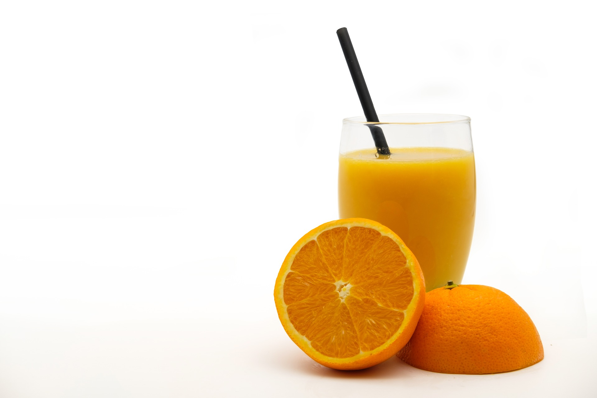 Spadek produkcji soku pomarańczowego