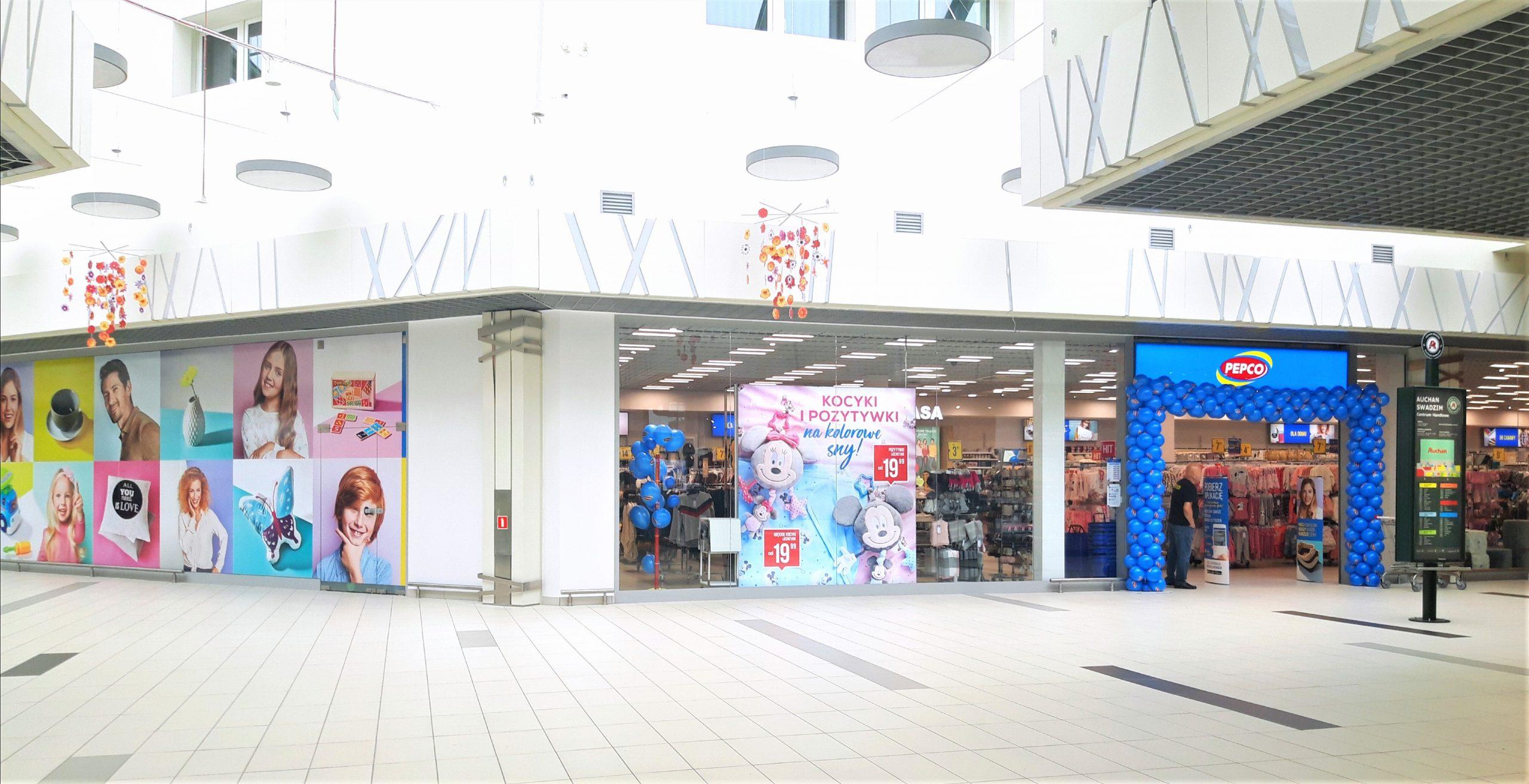 PEPCO wśród najemców Centrum Handlowego Auchan Swadzim