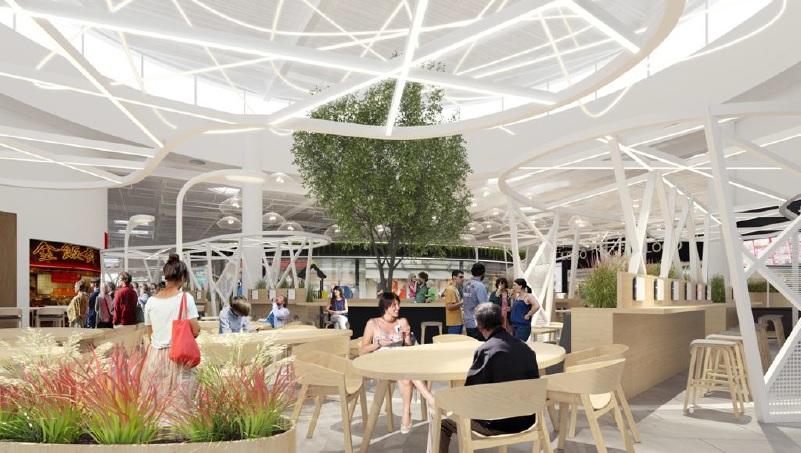 Remodeling Parku Handlowego Auchan Bielany