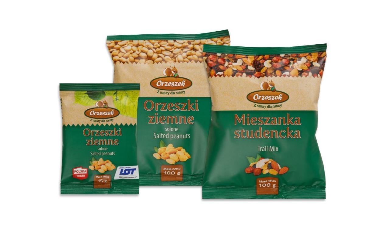 Marka Orzeszek w nowych opakowaniach