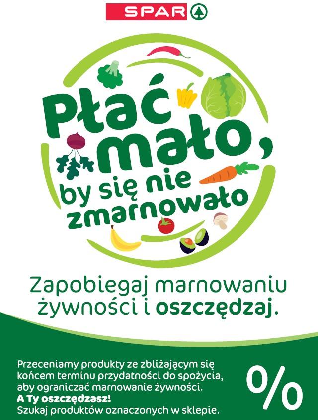 """SPAR Polska z akcją """"Płać mało, by się nie zmarnowało"""""""