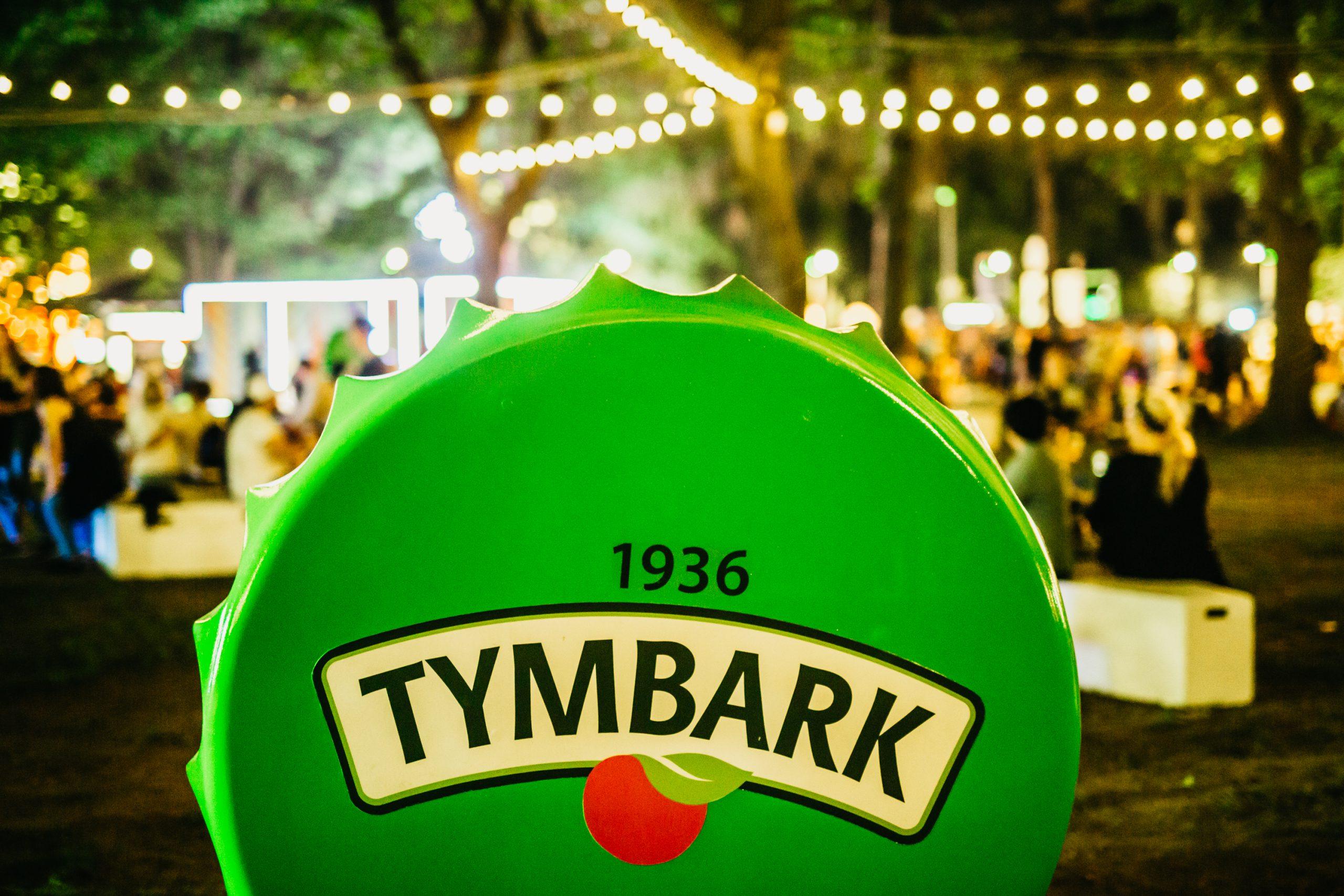 Tymbark jak co roku na letnich festiwalach