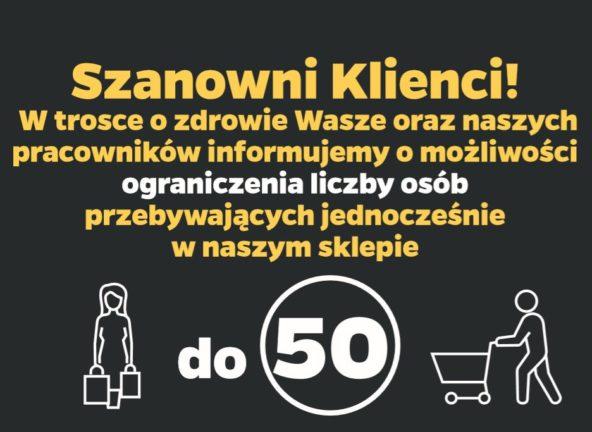 Netto: możliwość ograniczenia liczby klientów w sklepach