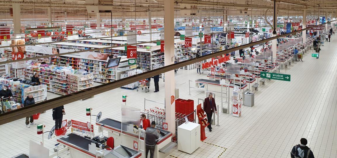 Rozwiązania Auchan wobec koronawirusa
