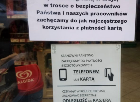Nasze sklepy funkcjonują bez zakłóceń