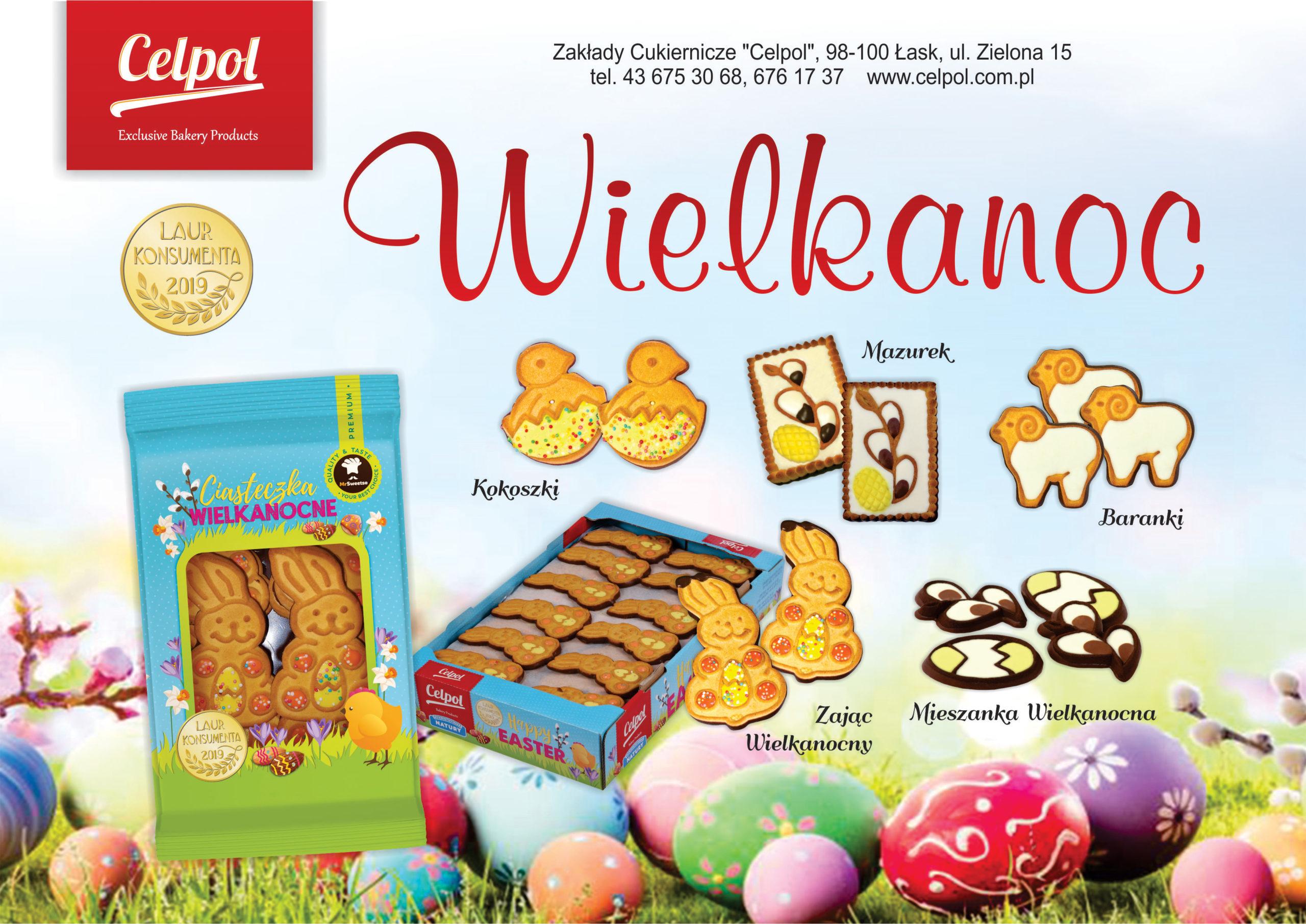 Oferta na Wielkanoc od Celpol