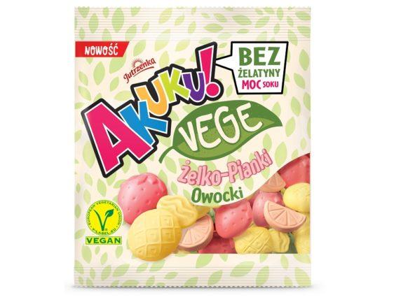 Akuku! VEGE – pierwsze na rynku żelko-pianki vege