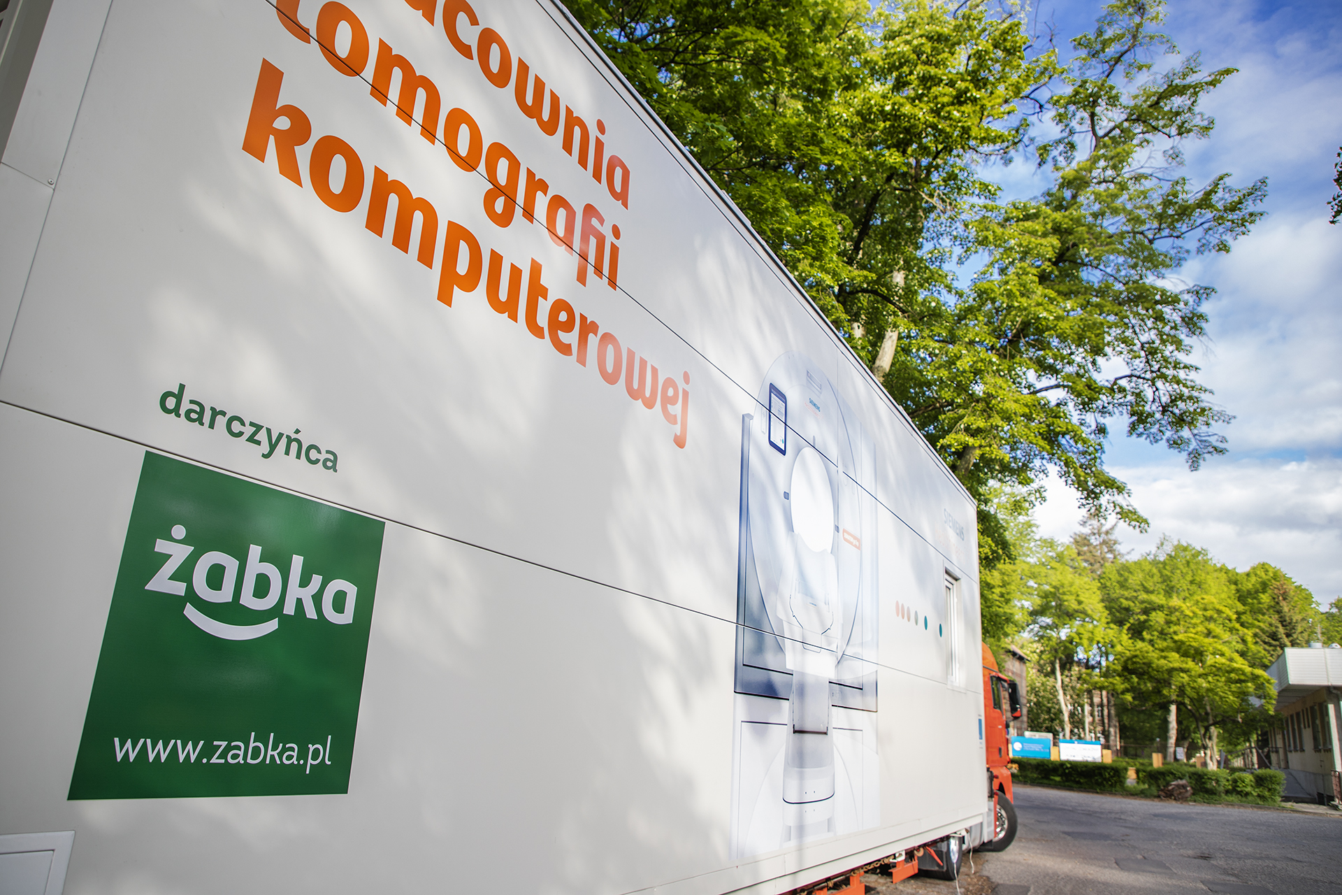 Żabka przekazała tomograf szpitalowi w Gorzowie Wielkopolskim
