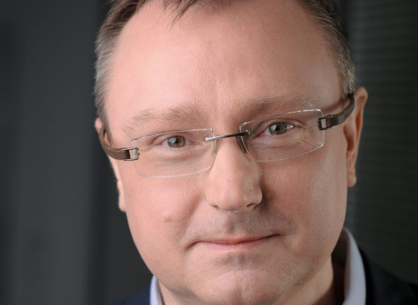 Piotr Klepczarek, dyrektor regionalny na obszar Europy Centralnej w Zebra Technologies