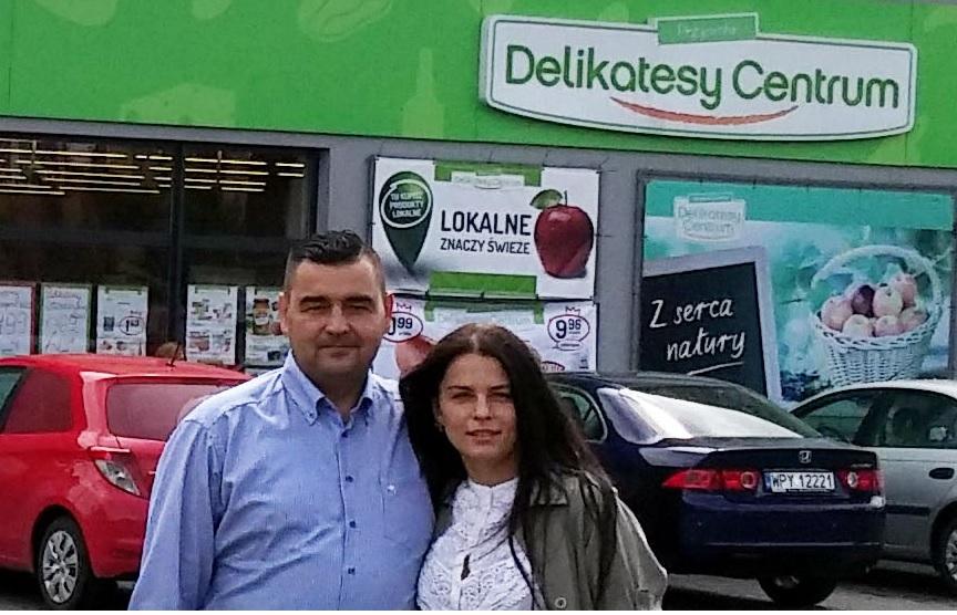 Ewa i Piotr Czarkowscy, franczyzobiorcy Delikatesów Centrum