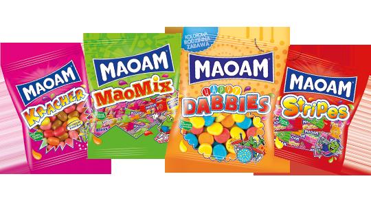 Bogata oferta gum rozpuszczalnych Maoam
