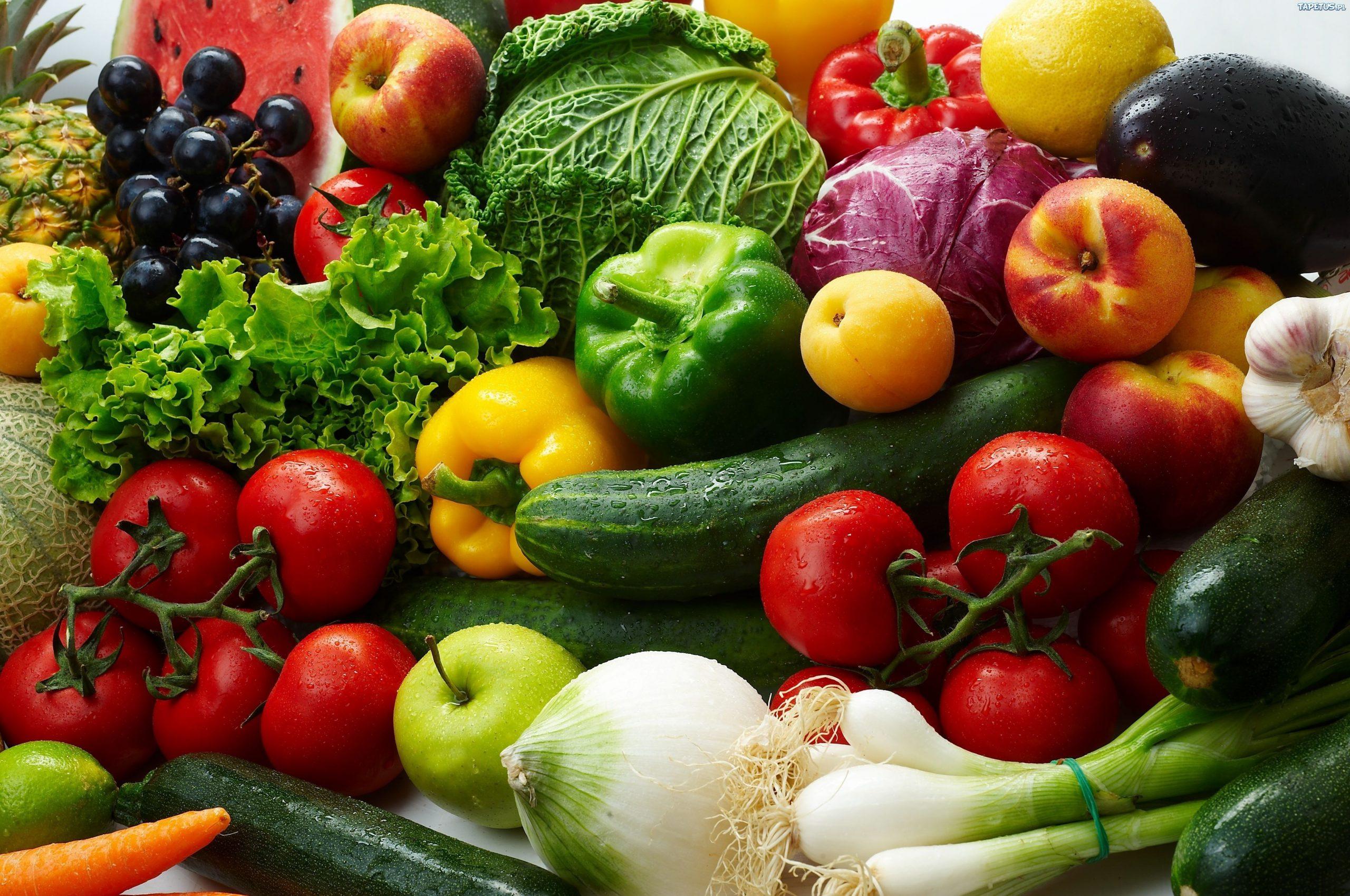 Jemy za mało owoców i warzyw