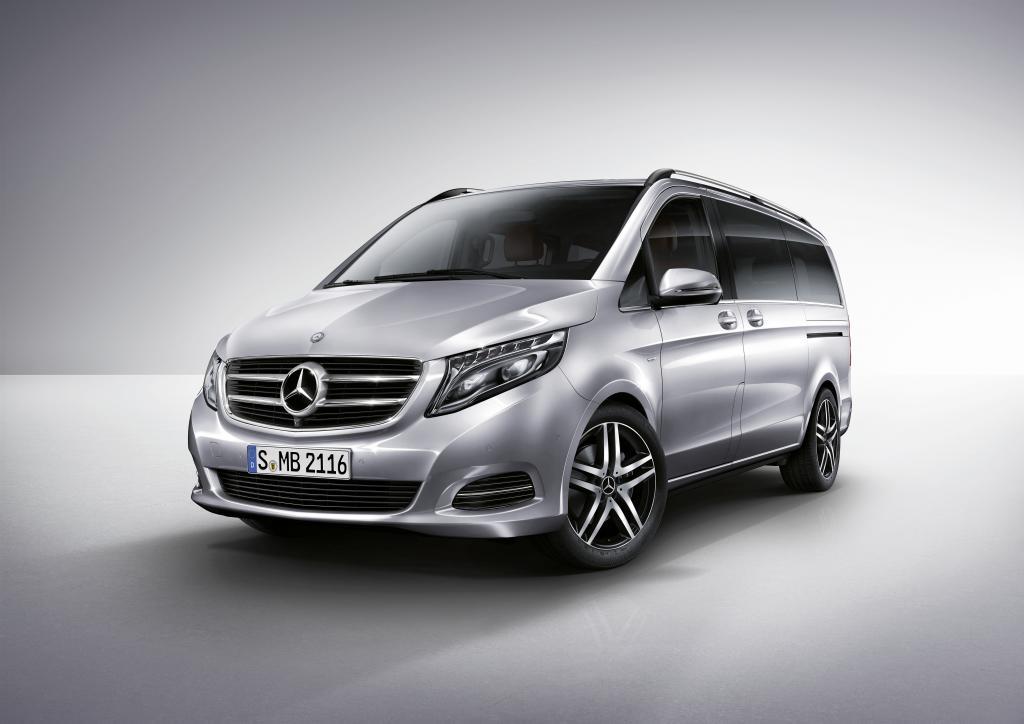 Nowa Klasa V  –  Mercedes wśród vanów