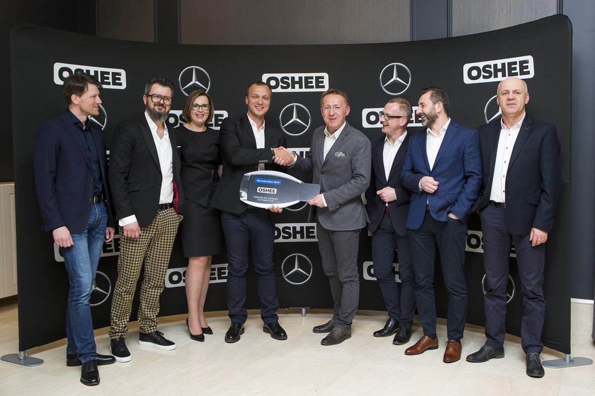 Flota samochodów OSHEE spod znaku Mercedes-Benz