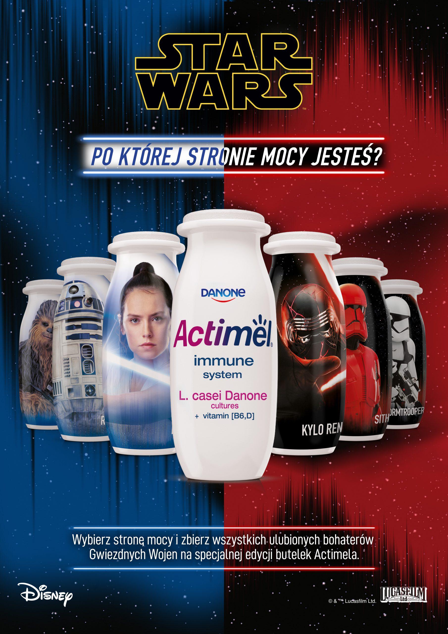 Actimel i Star Wars – nowa, limitowana edycja