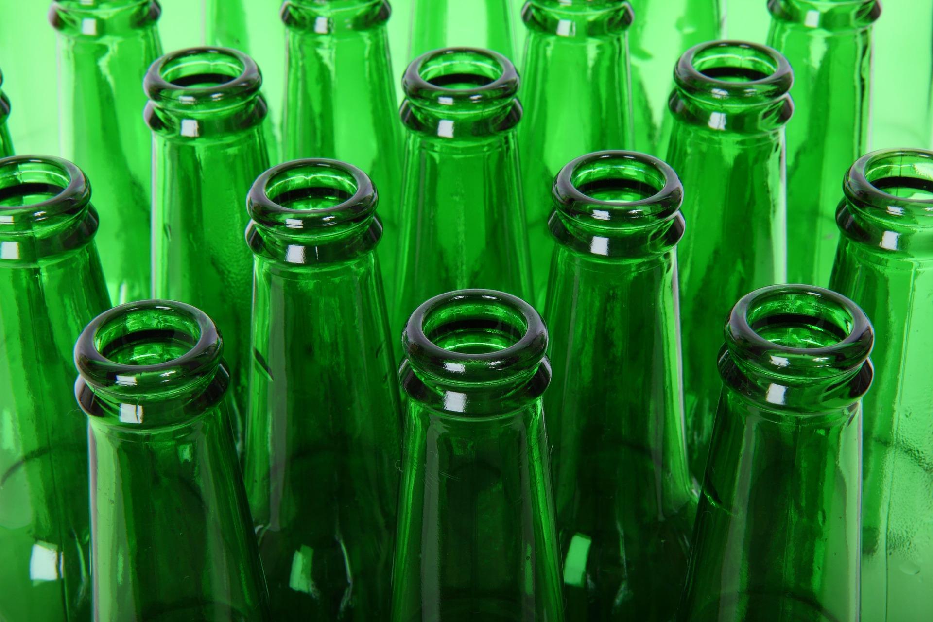 Drugie życie butelek zwrotnych