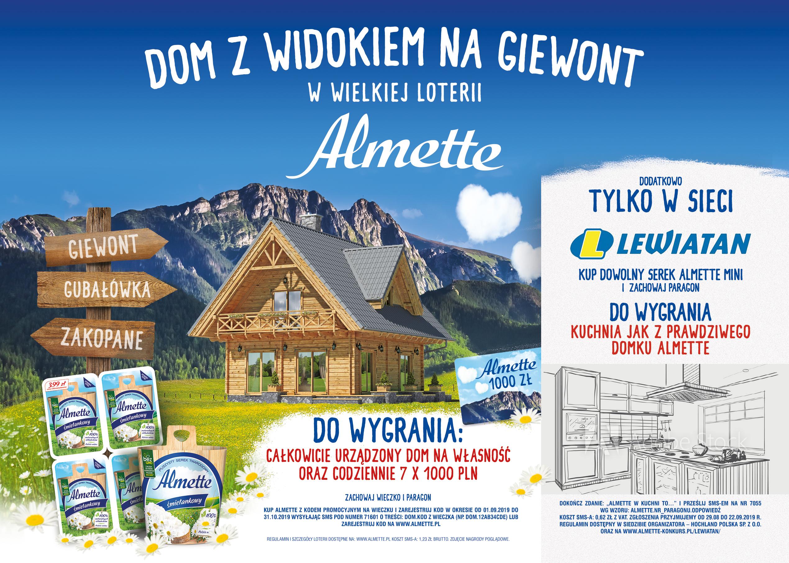 Kuchnia do wygrania – w konkursie Lewiatana – identyczna jak z domku Almette