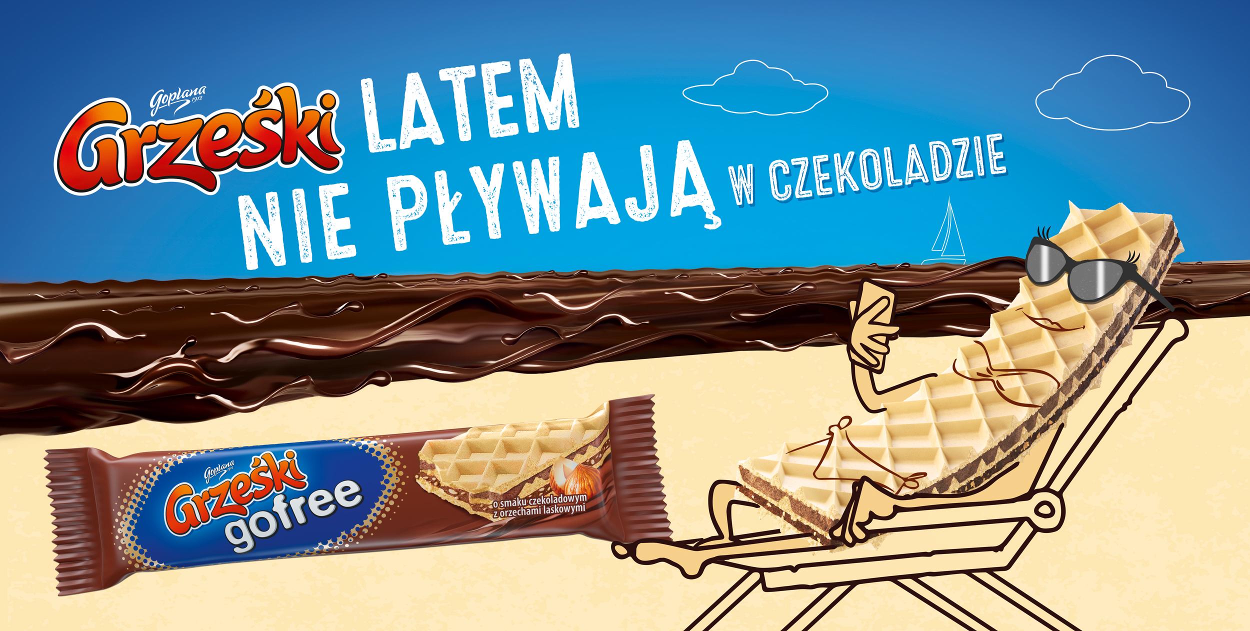 Grześki latem nie pływają w czekoladzie