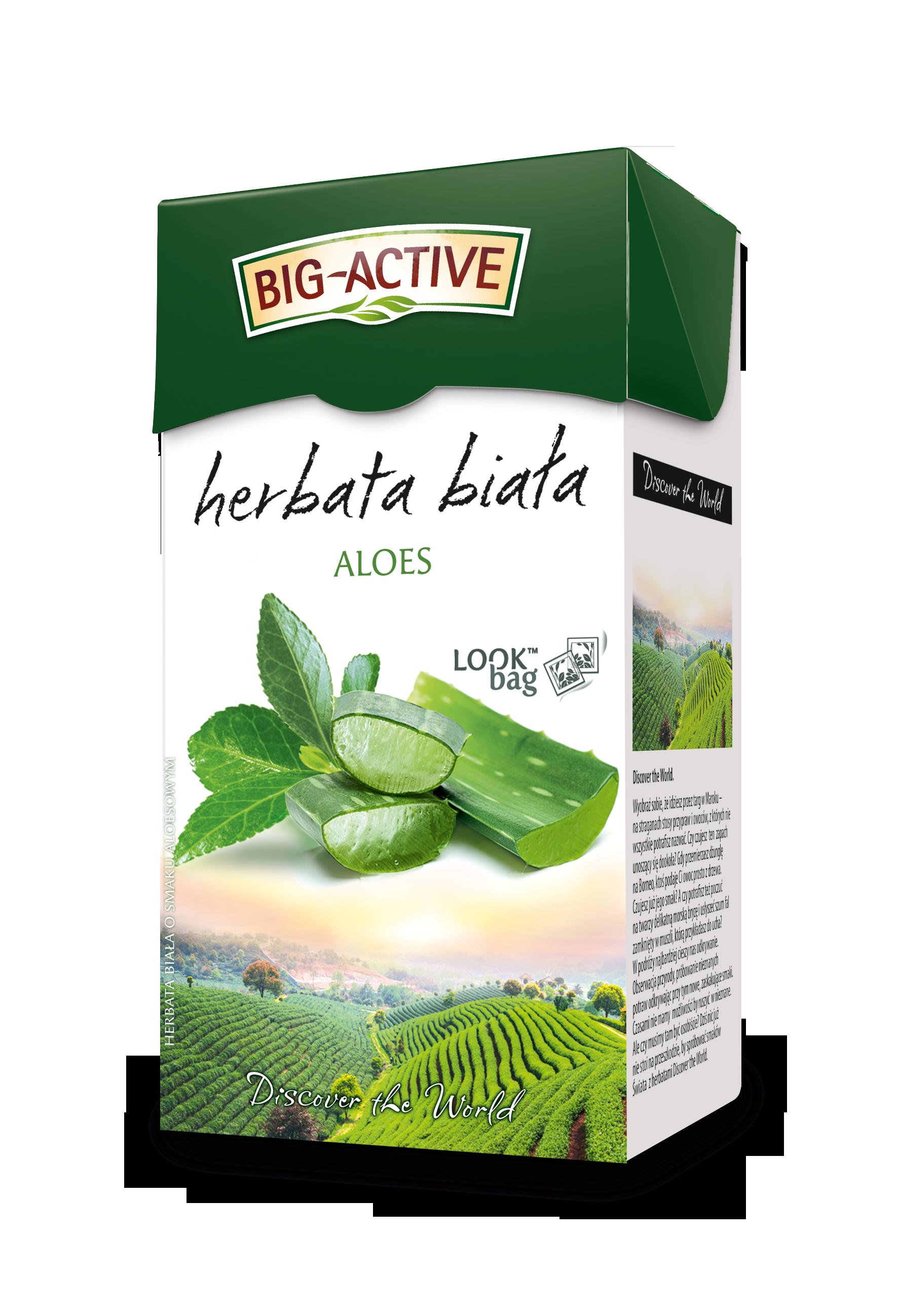 Herbata biała Big Active