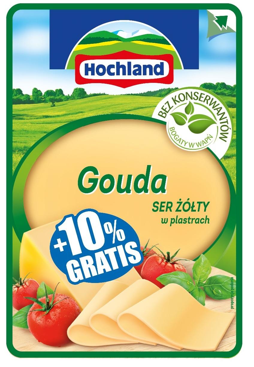 """Promocja """"+10% gratis"""" dla plastrów żółtych Hochland!"""