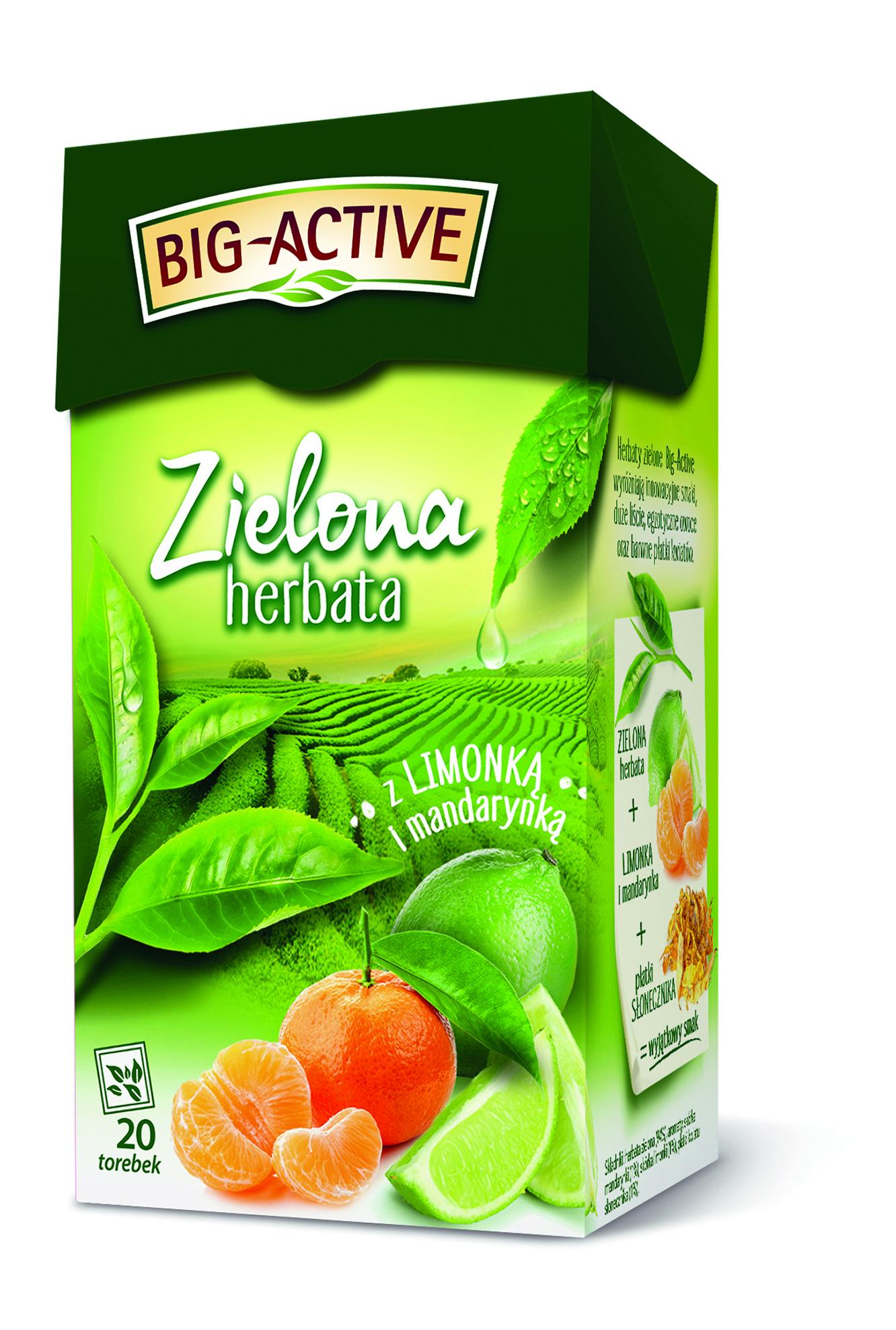 Wystartowała kampania reklamowa herbat zielonych Big-Active