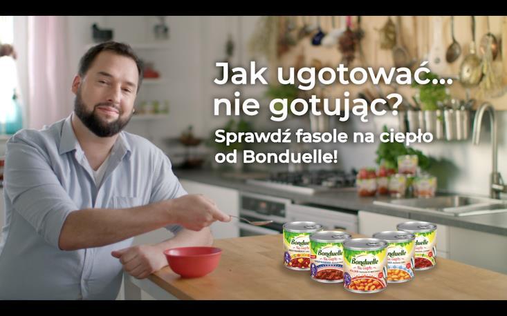 Fasole Bonduelle w najnowszej kampanii digital