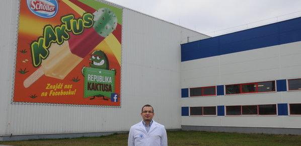 Zmiana na stanowisku dyrektora fabryki lodów Nestlé Schöller w Namysłowie