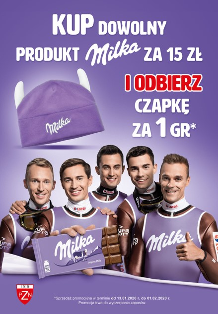 """Akcja promocyjna """"Milka. Sercem z Naszymi"""" w sieci sklepów Carrefour"""