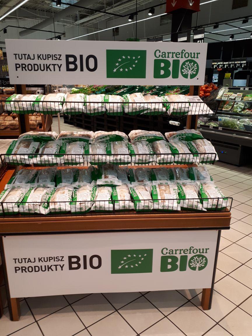 Carrefour rozszerza produkcję pieczywa bio
