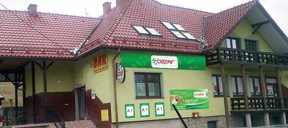 Otwarcie sklepu CEZAR Delikatesy w Rajbrocie