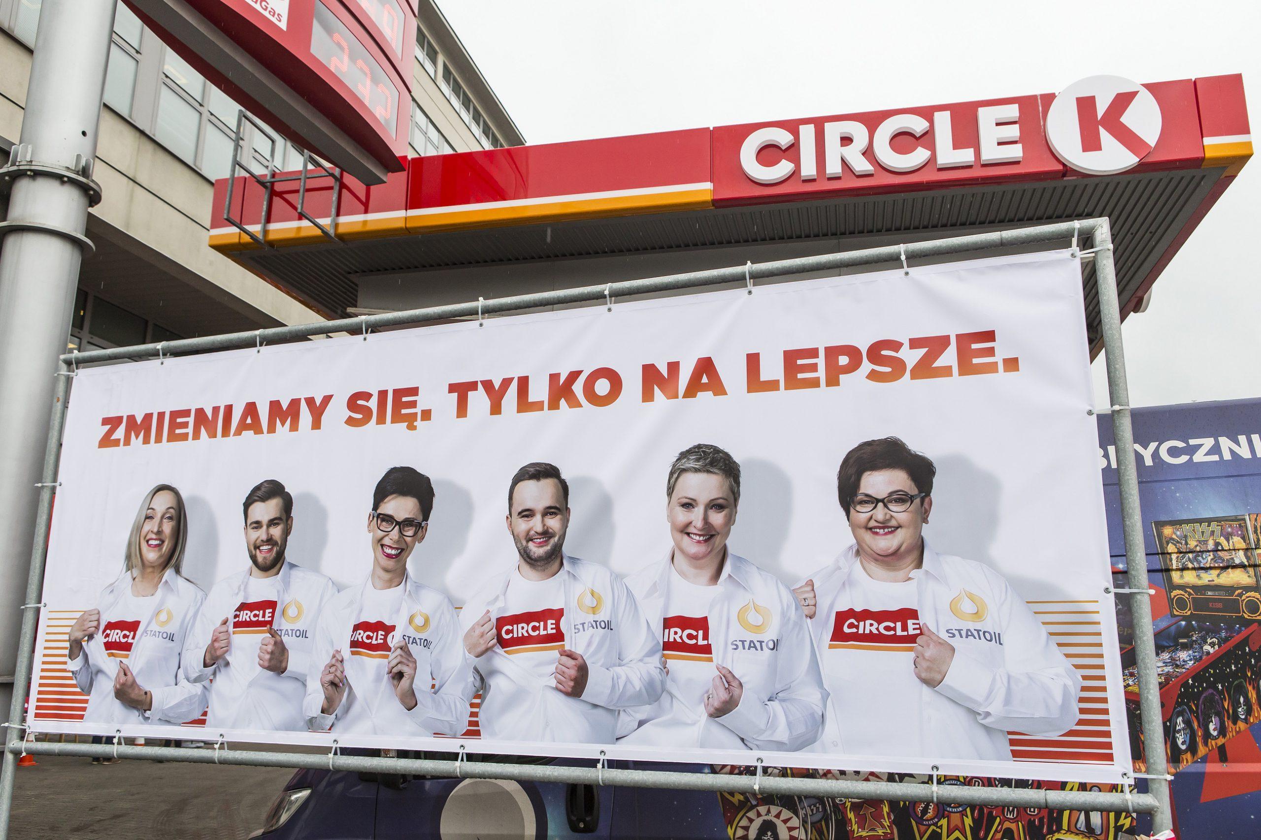 Stacje Statoil 1-2-3 zmieniają nazwę na Circle K Express