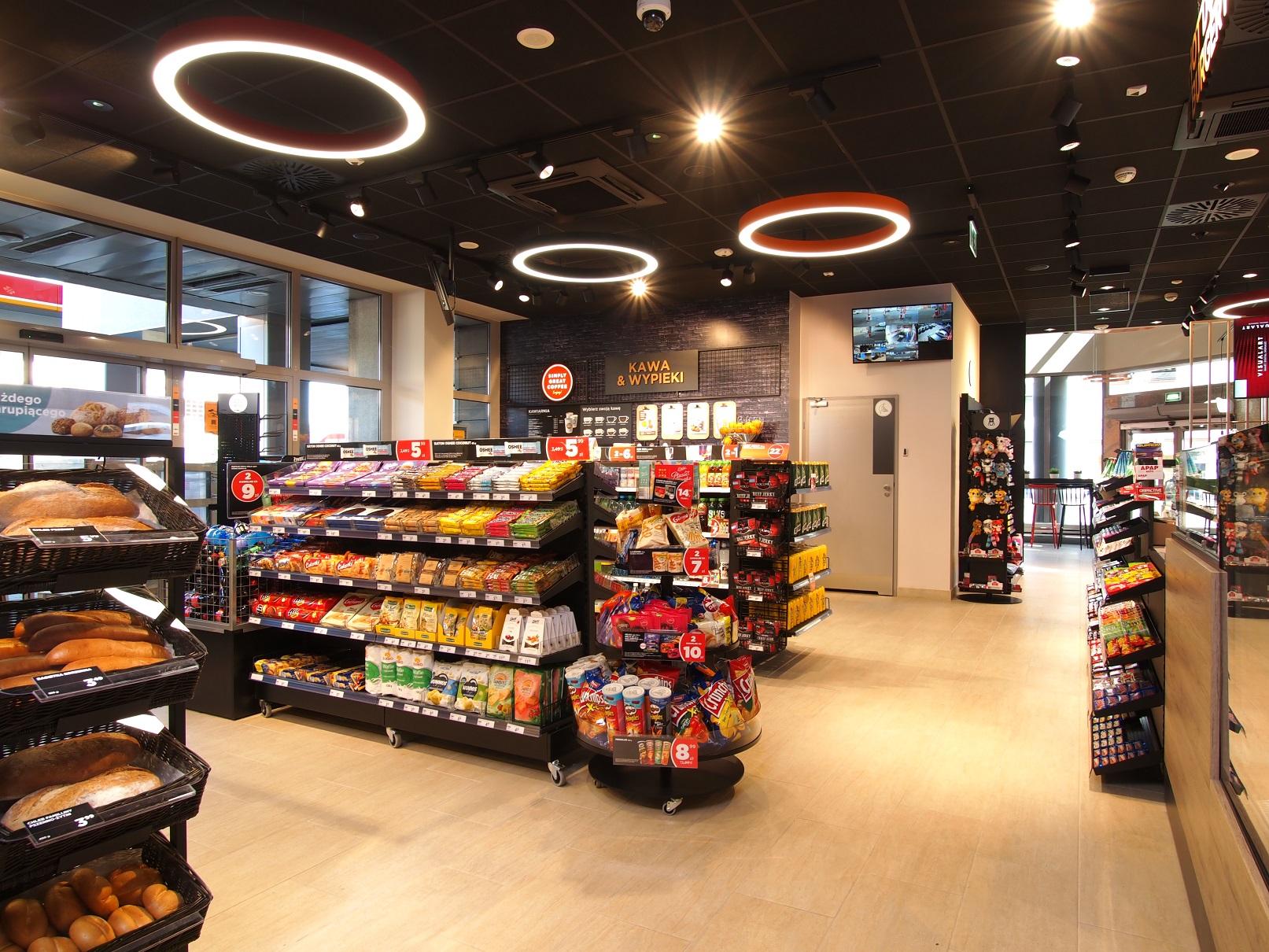 Sklep i kawiarnia Circle K – nowy punkt w Warszawie