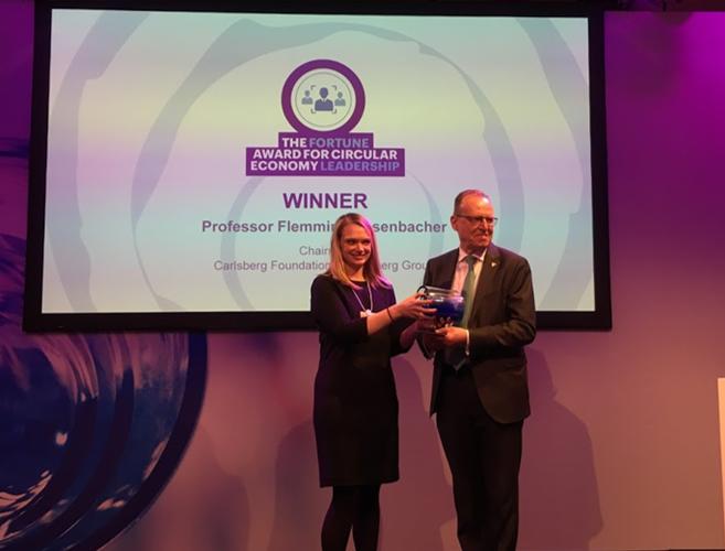 Nagroda The Circulars 2019 dla profesora Besenbachera z Grupy Carlsberg